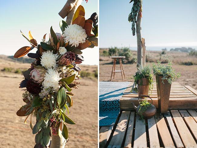 protea floral arbor