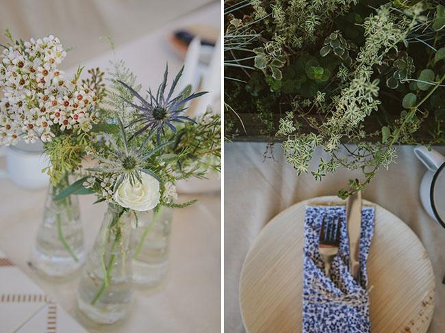 floral napkins