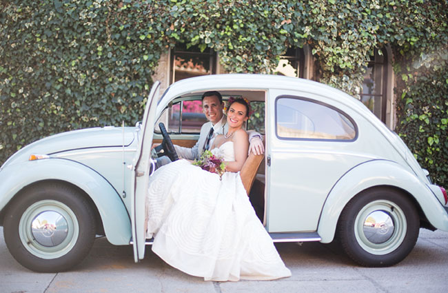 Eclectic Santa Barbara Historical Museum Wedding: Jessica + Mike