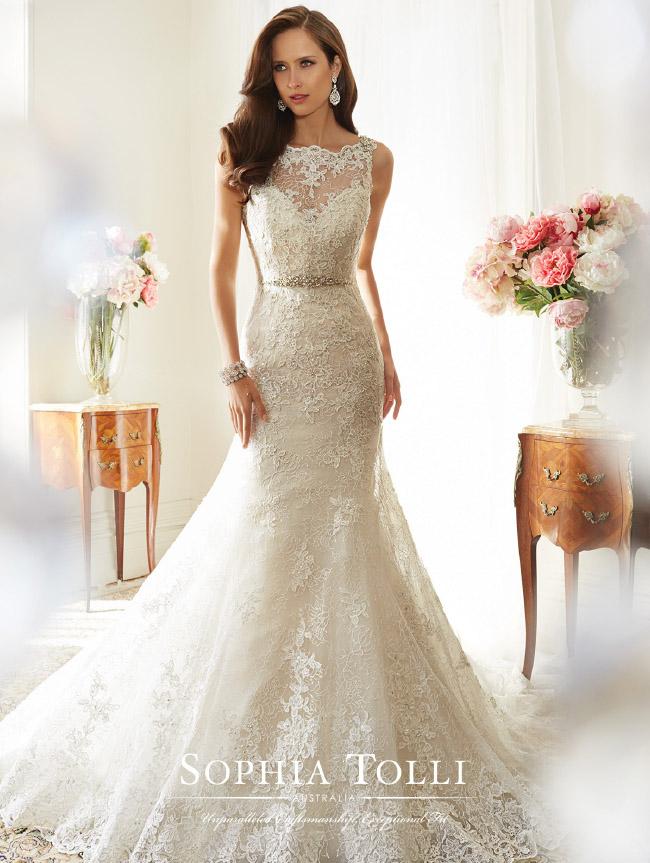 sophia tolli lace dress