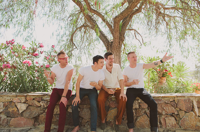 groomsmen colored pants