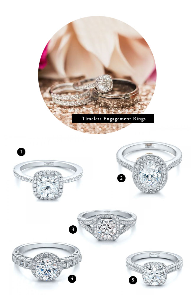 timeless engagement rings