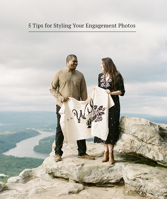 5 Tips for Styling Engagement Photos