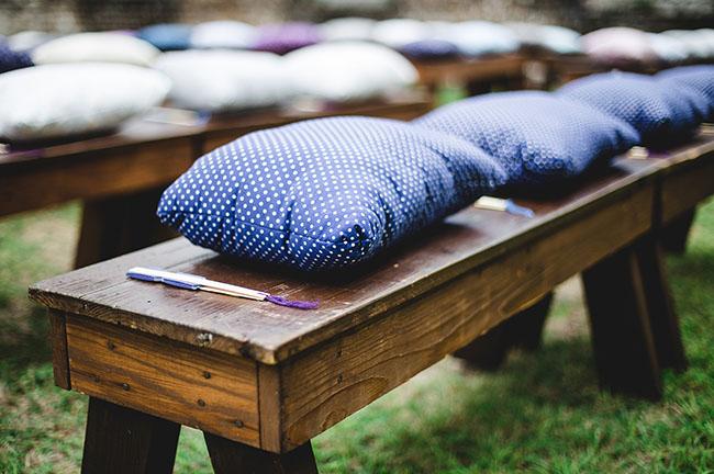pillow seating