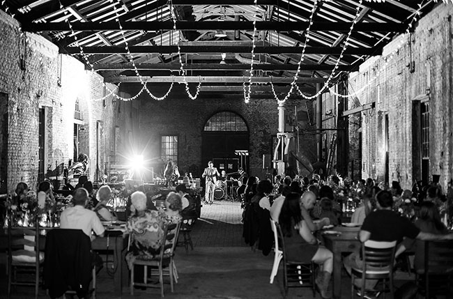 Train Station Wedding