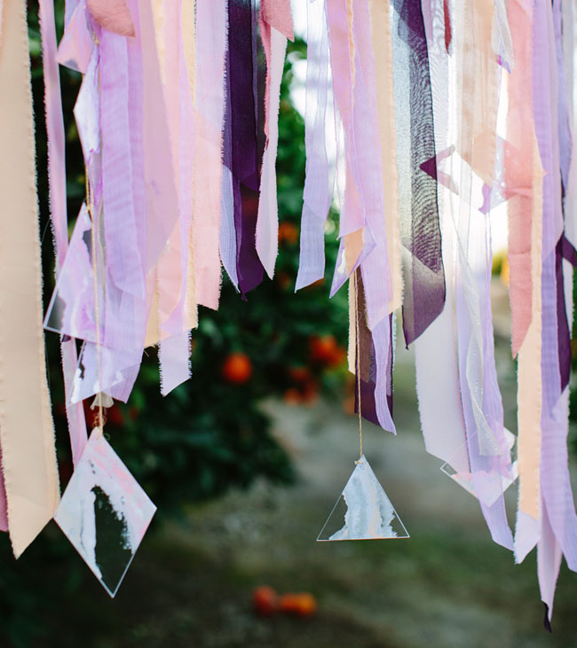 watercolor ribbon backdrop