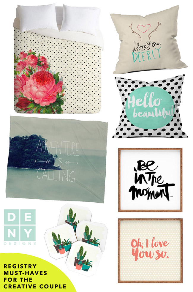 Deny designs creative wedding gifts