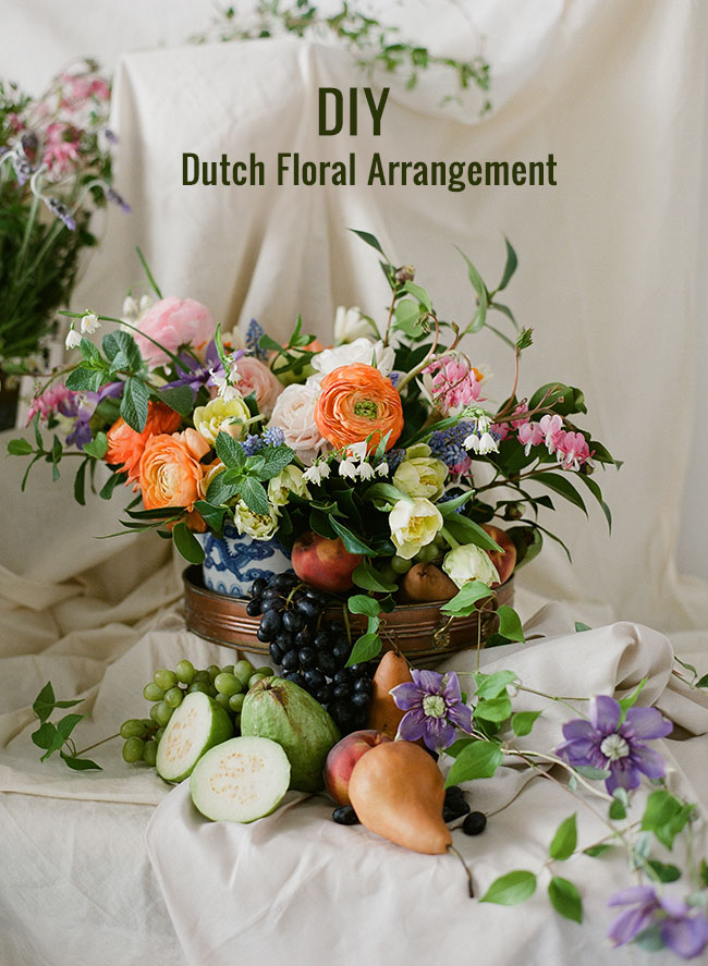 Dutch Floral Arrangement DIY