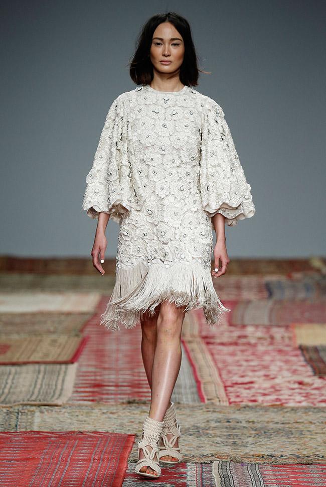 Houghton Fringe Wedding Dress
