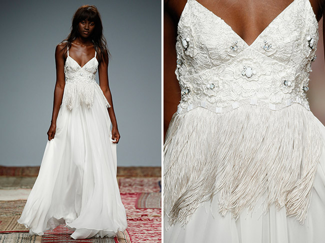 Houghton Fringe Wedding Dress