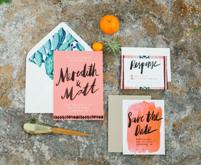Colorful Watercolor Invitation