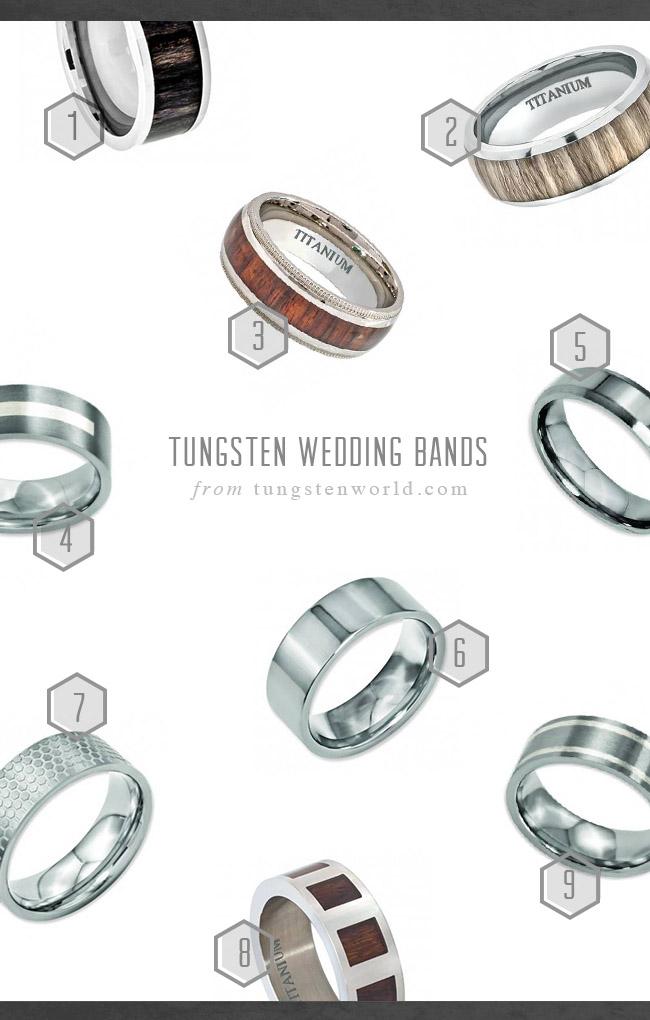 Titanium Koa Wedding Bands 66 Vintage Tungsten Wedding Bands