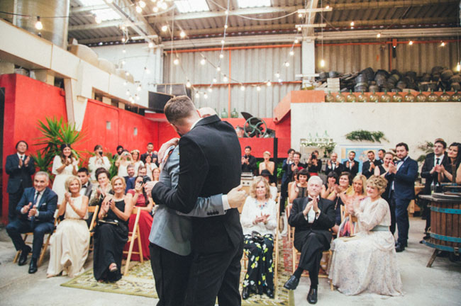 abandoned warehouse wedding
