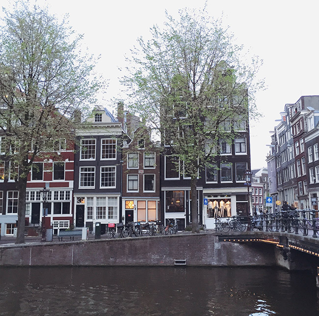 amsterdam for your honeymoon
