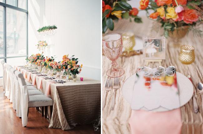 poppy wedding inspiration