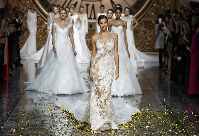 Wedding Dresses Brides 13 New Barcelona Bridal Week