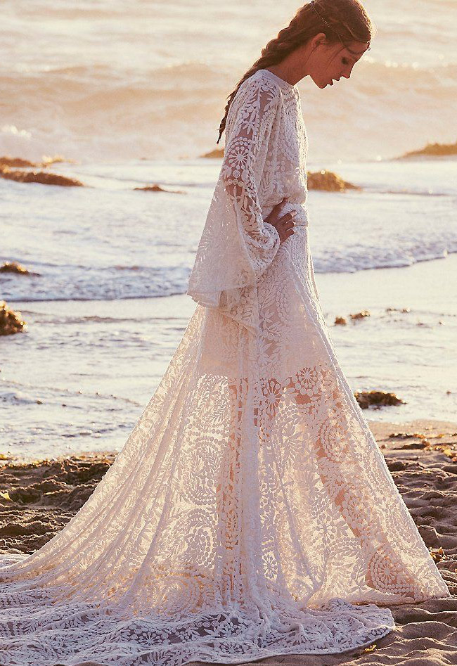 the 20 best wedding dresses for your beach wedding green