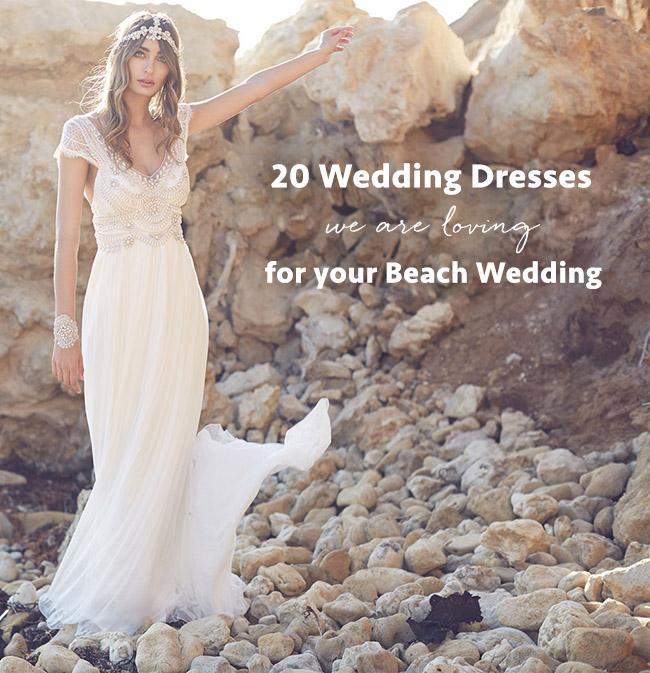 Top 20 Beach Wedding Dresses