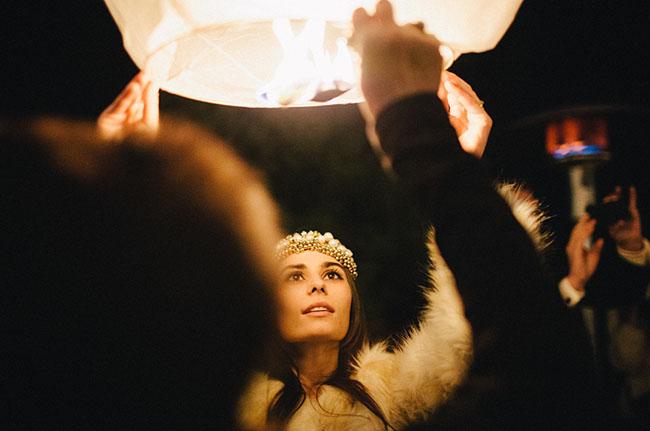 wishing lanterns