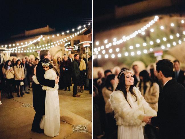 string lights first dance