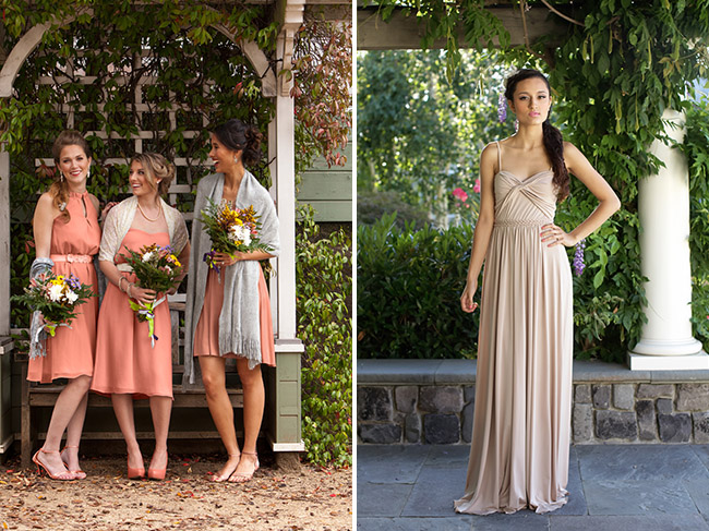 Pretty Bridesmaid Dress Rentals from Chic Bridesmaid   Green ...