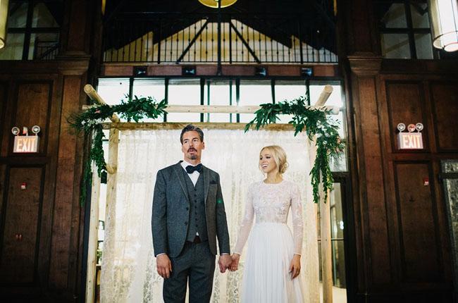 Brooklyn Bride and Groom