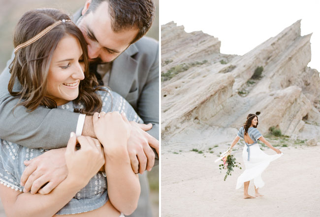 Vasquez Rocks Engagement