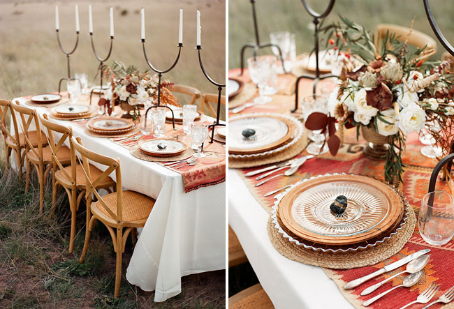 field tablescape