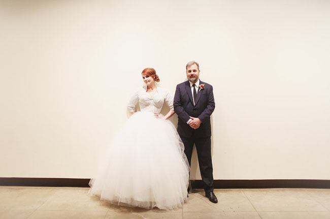 Former husband and wife couple: Dan Harmon and Erin McGathy