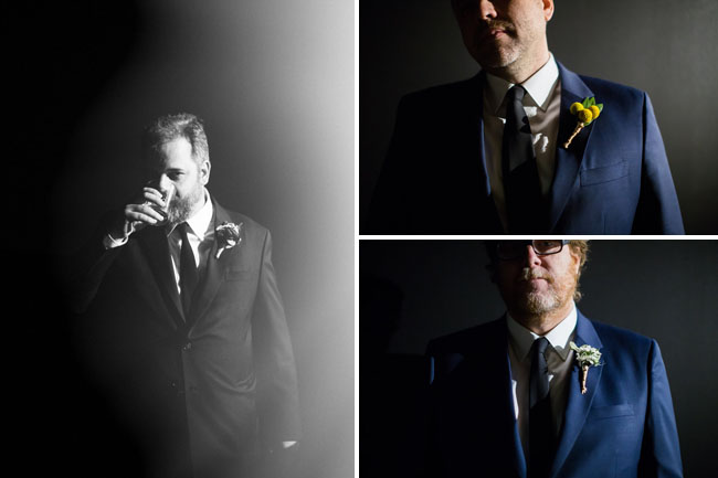Dan Harmon and groomsmen