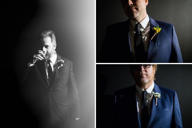 Dan Harmon and groomsmen
