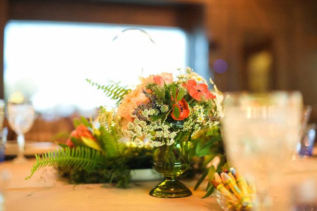 anemone centerpiece