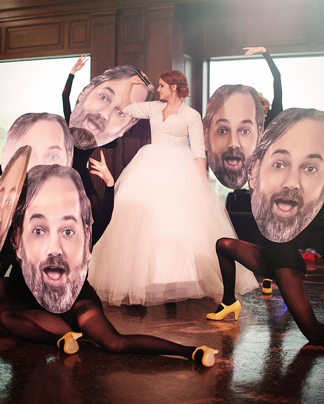 Dan Harmon Wedding