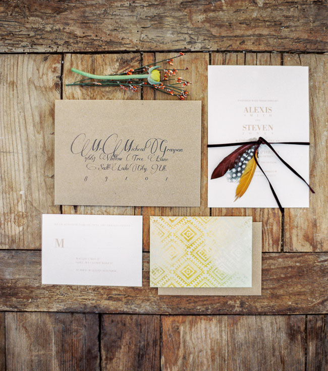 desert boho invitation