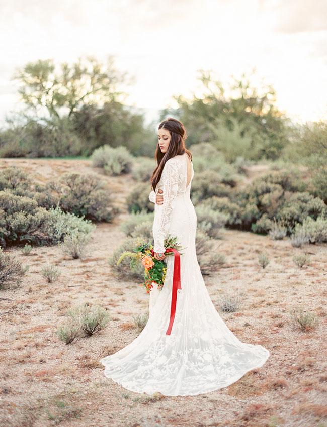 lace boho dress