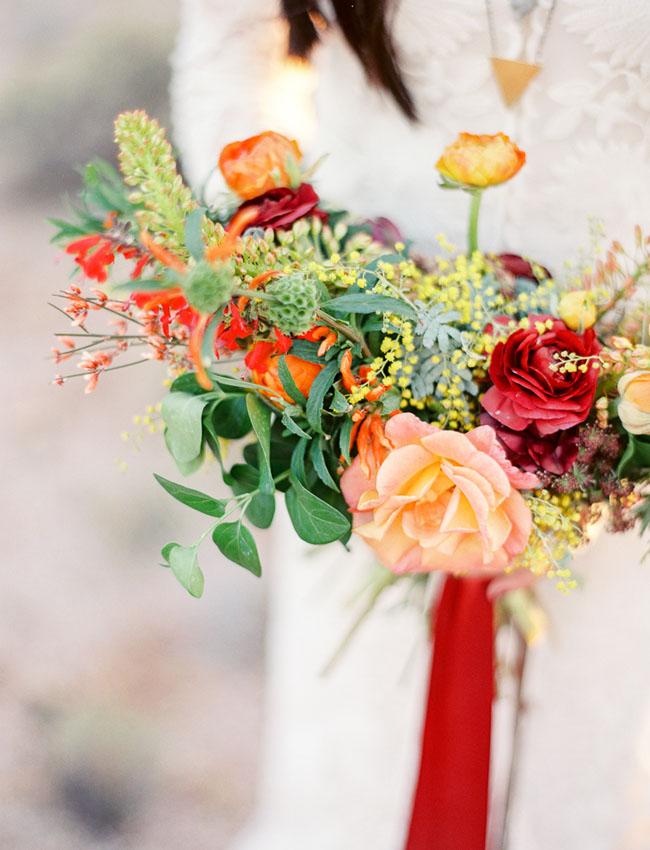desert boho bouquet