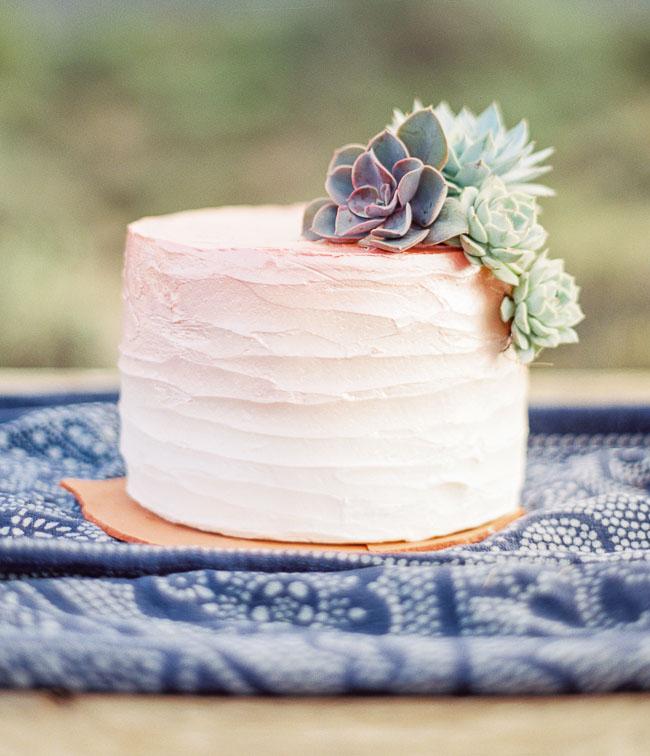 desert ombre cake