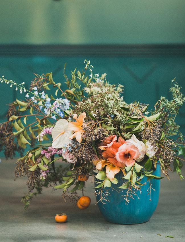 wild floral piece