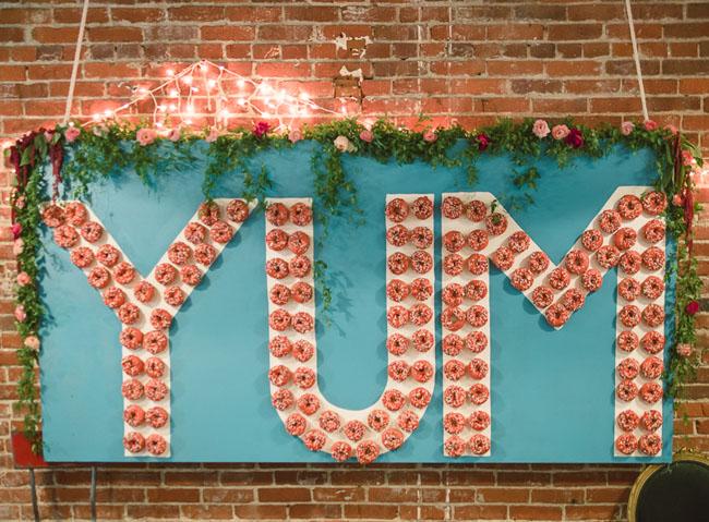 YUM donut wall