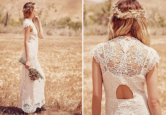Now Free People, the boho clothing line known for festival-worthy fashion, is launching its first bridal collection called FPEverAfter on May The 15 styles, with price tags ranging from $ to $1,, feature variations of lace, sheer fabrics, minimal beading and low backs—perfect for a beach or outdoor wedding with festival flair.