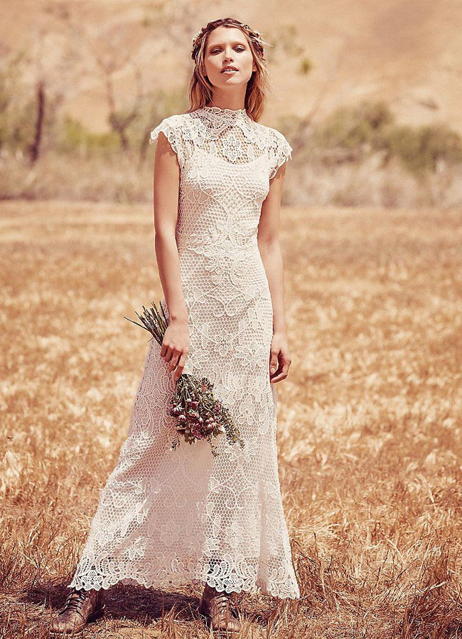 FPEverAfter Bridal Collection from Free People | Green Wedding ...