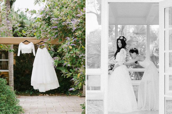 two piece Atelier dress