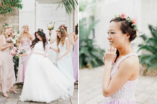 Garden Wedding Bridesmaid Dresses 53 Stunning dancing bridesmaids
