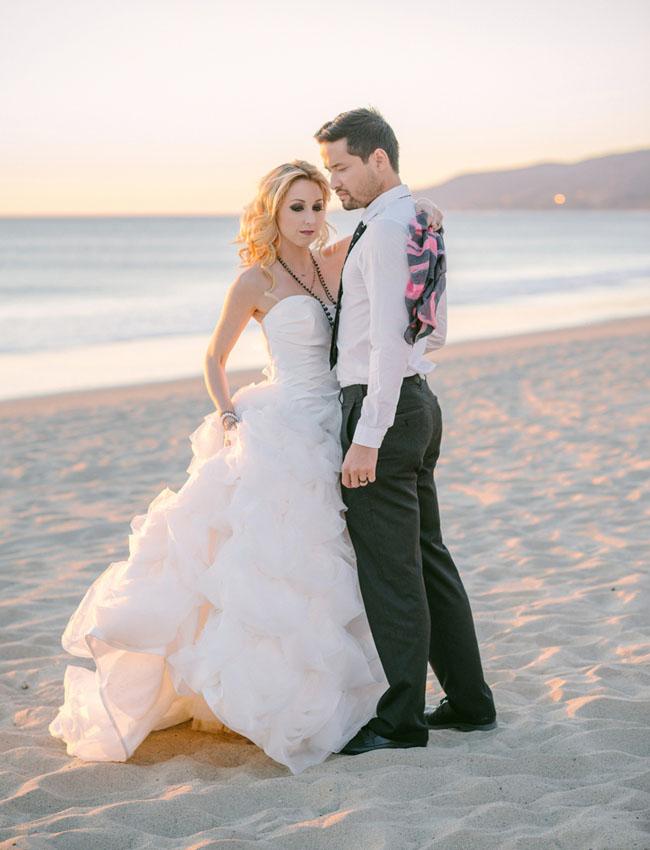 Romantic Gothic Beach Inspiration