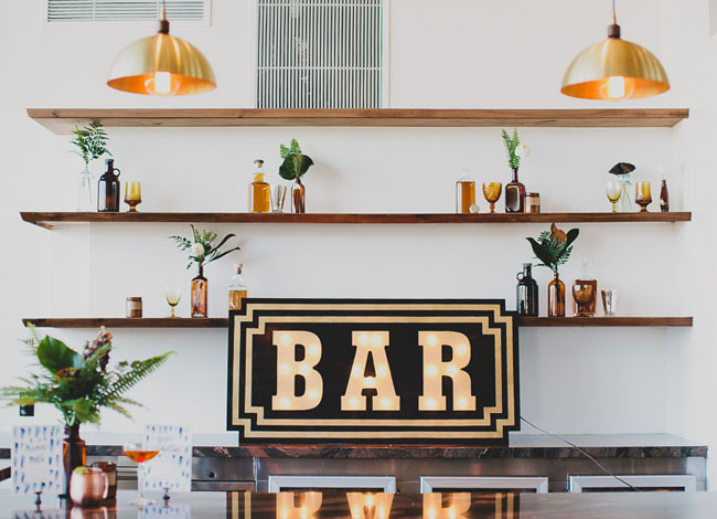 industrial bar