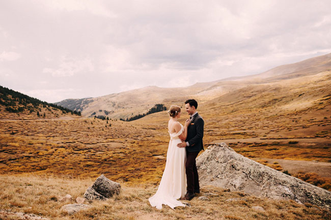 Colorado Mountaintop Wedding