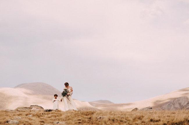 Colorado Mountaintop Wedding