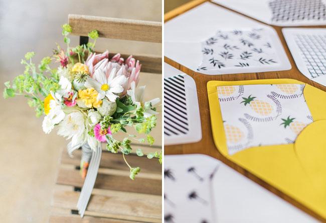 pineapple paper goods