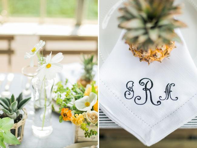 napkin initials