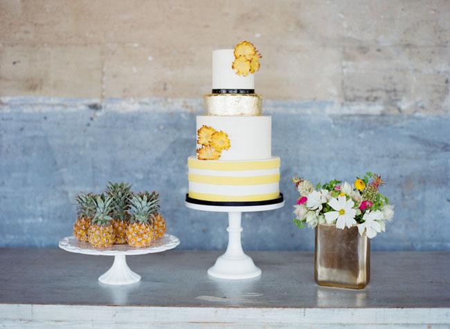 Kate Spade Tropical Cake